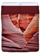 Hidden Canyon Angles. Duvet Cover