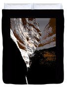 Hidden Canyon Duvet Cover
