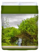Hidden Gate II Duvet Cover