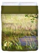 Hidden Grass Duvet Cover