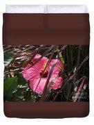 Hidden Hibiscus  Duvet Cover