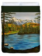 Hidden Lake Duvet Cover