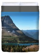 Hidden Lake - Glacier National Park Duvet Cover