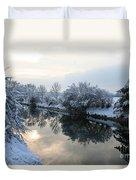 Hidden Sun Duvet Cover