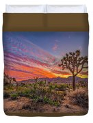 Hidden Valley Sunset Duvet Cover
