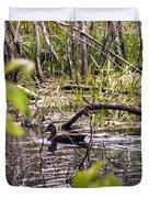 Hide And Seek Ducks Duvet Cover