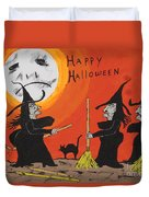 Hide The Halloween Candy Duvet Cover