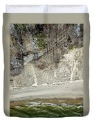 High Above The Coast Duvet Cover