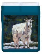 High Country Friend Duvet Cover