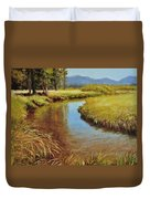 High Country Gold Duvet Cover