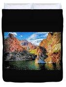 High Desert Lake Duvet Cover