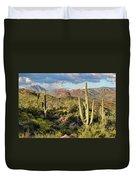 High Desert Peaks Duvet Cover