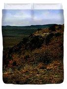 High Desert Sundown Duvet Cover