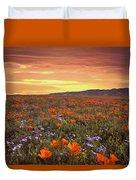 High Desert Sunset Serenade Duvet Cover