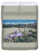 High Desert Wildflowers Duvet Cover