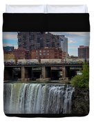 High Falls, Rochester  Duvet Cover