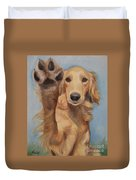 High Five Duvet Cover by Jindra Noewi