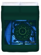 High Flux Isotope Reactor Pool Duvet Cover
