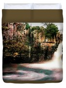 High Force With A Watercolour Effect. Duvet Cover