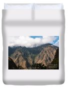 High In The Andes Duvet Cover