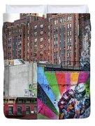 High Line Art Duvet Cover