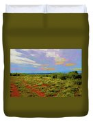 High Mesa Path Duvet Cover