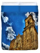 High Noon At The Bell Tower Duvet Cover