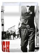 High Noon, Gary Cooper Duvet Cover
