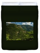 High On The White Mountains Duvet Cover