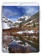 High Peak Reflections Duvet Cover