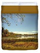 High Point Autumn Scenic Duvet Cover