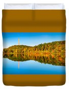 High Point Monument Duvet Cover