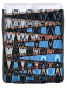 High Rise Construction Abstract # 4 Duvet Cover