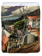 High Road At Jerome Duvet Cover