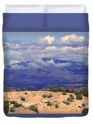 High Road To Taos Panorama Duvet Cover