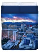 High Roller Sunset Duvet Cover