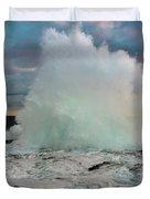 High Surf Explosion Duvet Cover