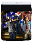 High Treason - State Of The Union-a House Divided1 Duvet Cover