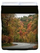 High Walls Of Fall Colors Duvet Cover