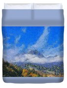 High Winds And Clouds Duvet Cover