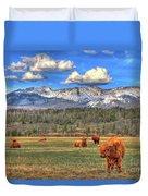 Highland Colorado Duvet Cover