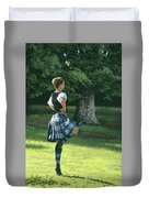 Highland Dancer Duvet Cover