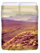 Highland Landscape Duvet Cover