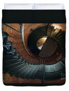 Highland Lighthouse Stairs Cape Cod Duvet Cover