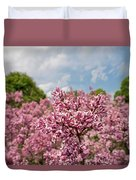 Highland Park Lilacs Detail Rochester Ny Duvet Cover