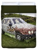 Highland Stoneware Car Duvet Cover