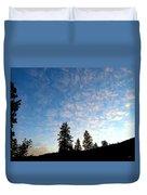 Highland Sunrise Duvet Cover
