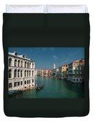 Hight Tide In Venice Duvet Cover