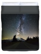 Hightway To The Stars Duvet Cover