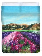 Highway 246 Flowers 3 Duvet Cover